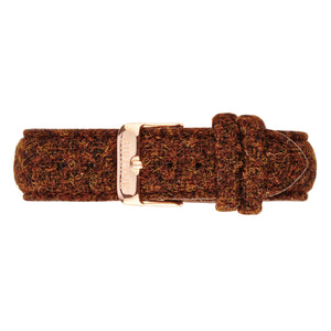 Harris Tweed Brown Carloway Watch 40mm
