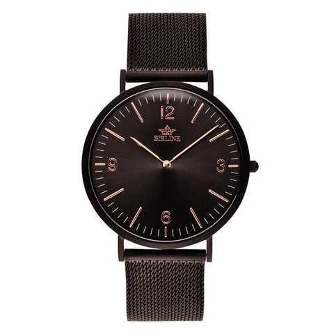 Eclipse | Black Mesh Watch Birline