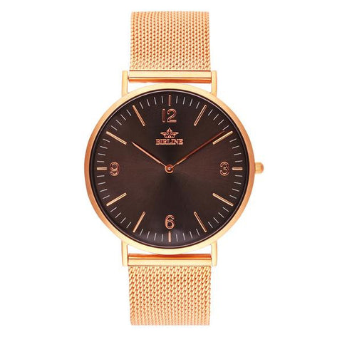 Eclipse | Rose Gold - Mesh Watch - Birline