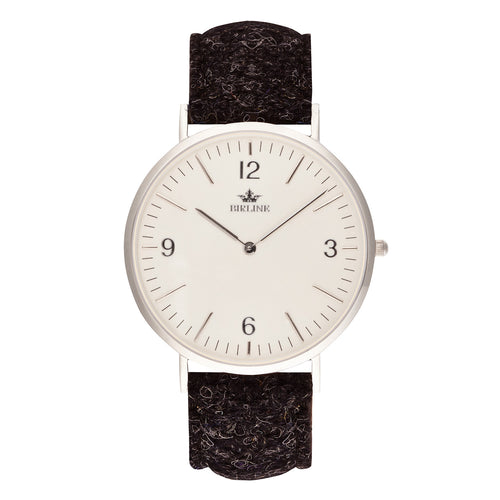 Stornoway | Silver - Harris Tweed Watch - Birline