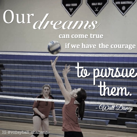 volleyball dreams quote