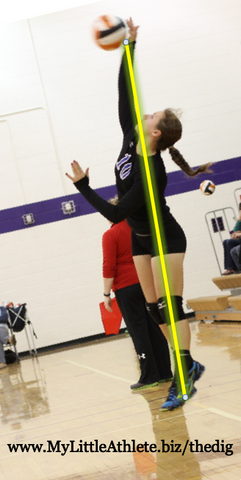 how to hit in volleyball