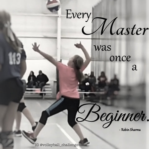 every master was once a beginner