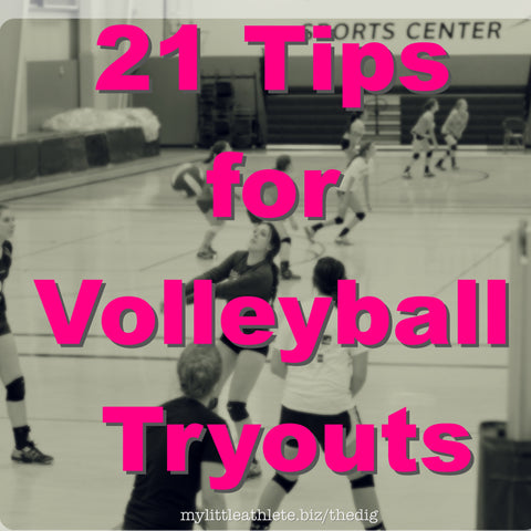 tips for volleyball tryouts