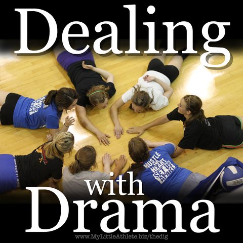 dealing with drama in volleyball