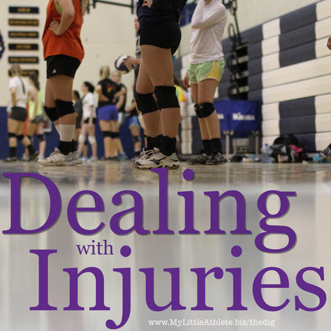 dealing with volleyball injuries
