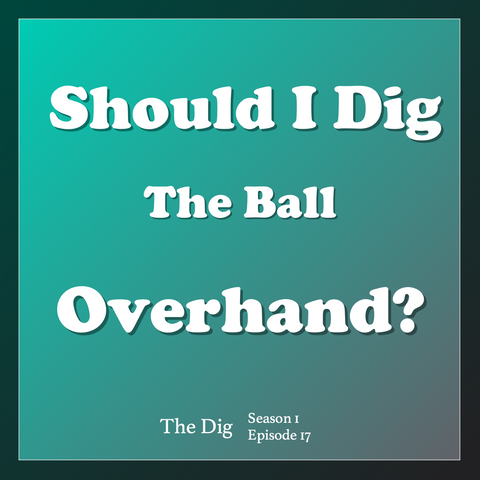 volleyball overhand dig