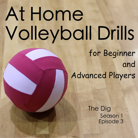 at home volleyball drills for beginners