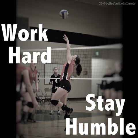 volleyball setter work hard