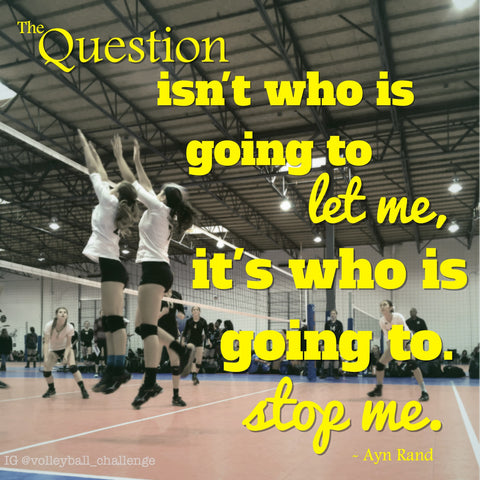 the question isn't who is going to let me it's who is going to stop me.