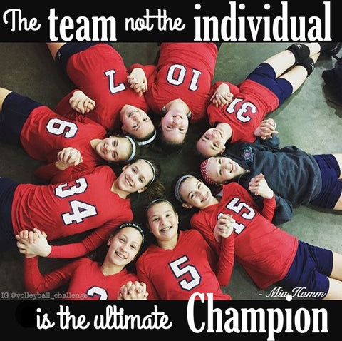 the team not the individual is the ultimate champion