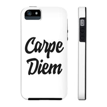 Carpe Diem Phone Cases White