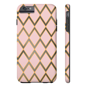 Rose, Gold and Gray Phone Case