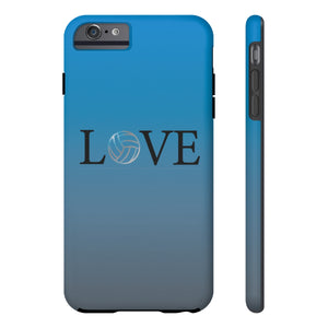 Volleyball Love Tough Phone Case