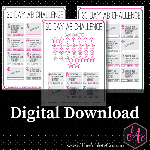 30 day ab workout challenge