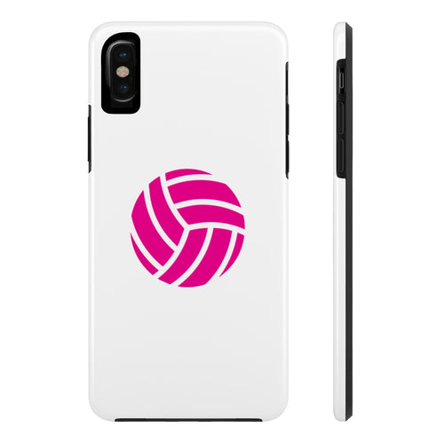 Pink Volleyball Phone Case