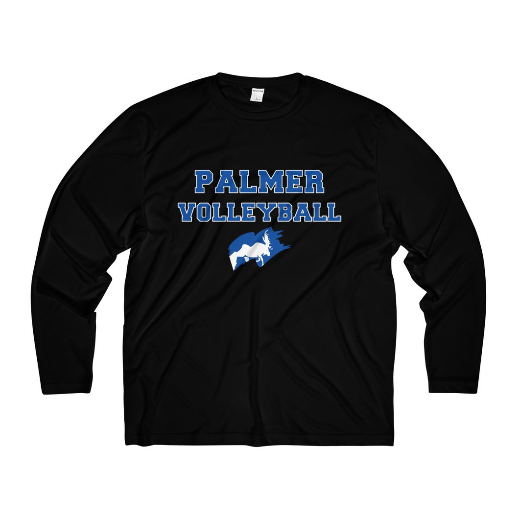 Palmer Volleyball Men's Long Sleeve Moisture Absorbing Tee