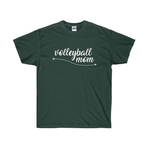 Volleyball Mom, White Text