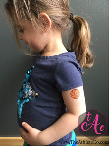 basketball temporary tattoos