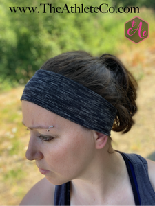 Black Striped Headband