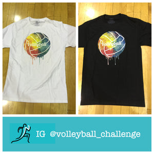 colorful volleyball shirt
