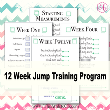 jump training fitness planner