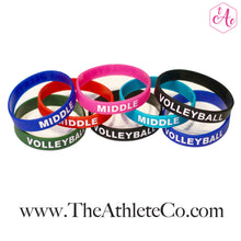 silicone volleyball bracelets