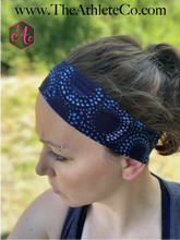 Navy & Light Blue Headband