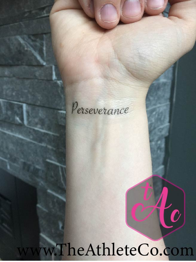 Perseverance Temporary Tattoo