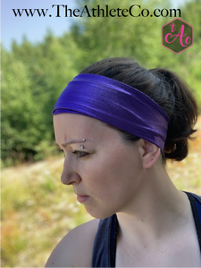 Purple Mermaid Headband