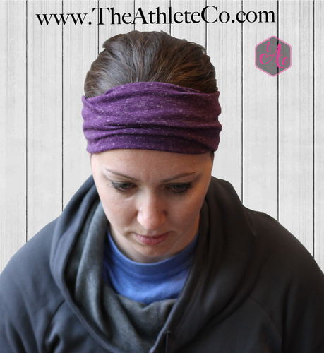 Purple Turban Headband