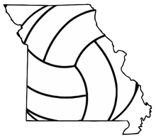 Missouri Volleyball Tshirt