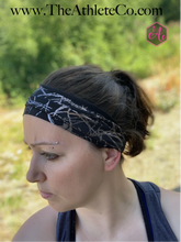 Silver Splash Headband