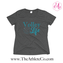 Volley Life Women's Heather Wicking Tee