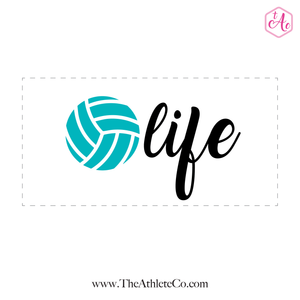 Volley Life Sticker