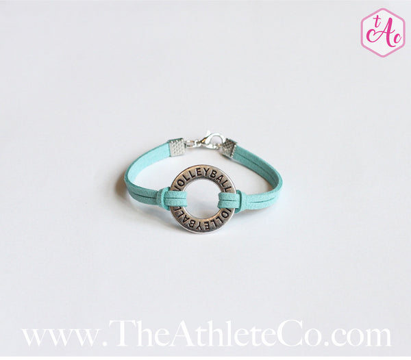circle volleyball bracelet