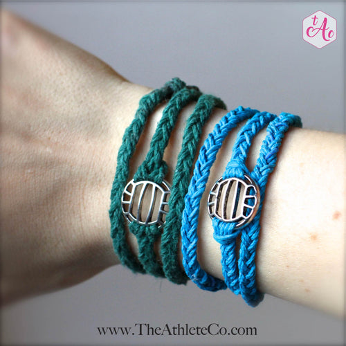 Volleyball bracelet wrap
