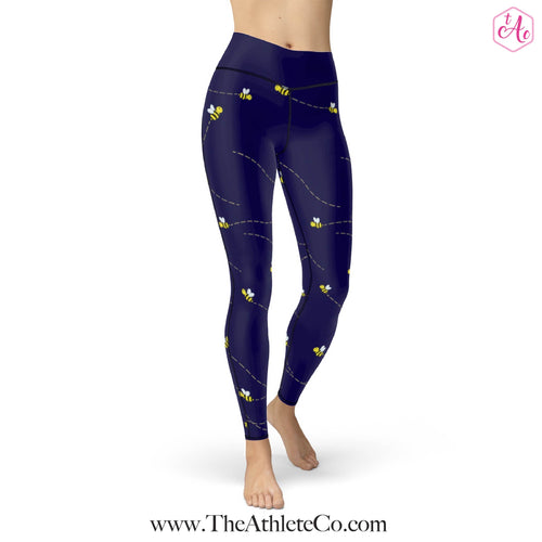 Busy Bee Athletic Leggings