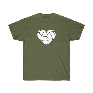 Volleyball Heart TShirt