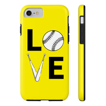 LOVE Softball Phone Case