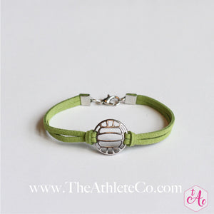 volleyball bracelet green