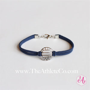 volleyball bracelet navy