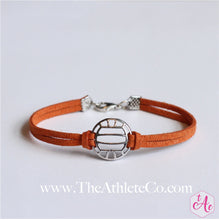volleyball bracelet orange