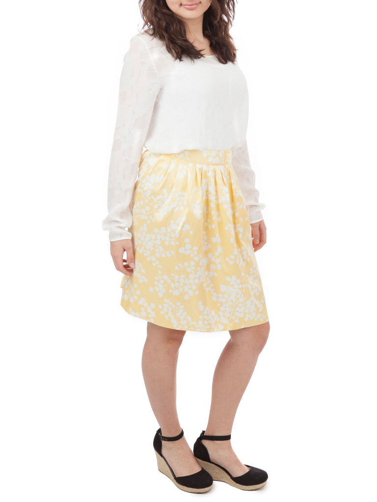 Moulinette Soeurs Floral Pleated Skirt - The Mercantile