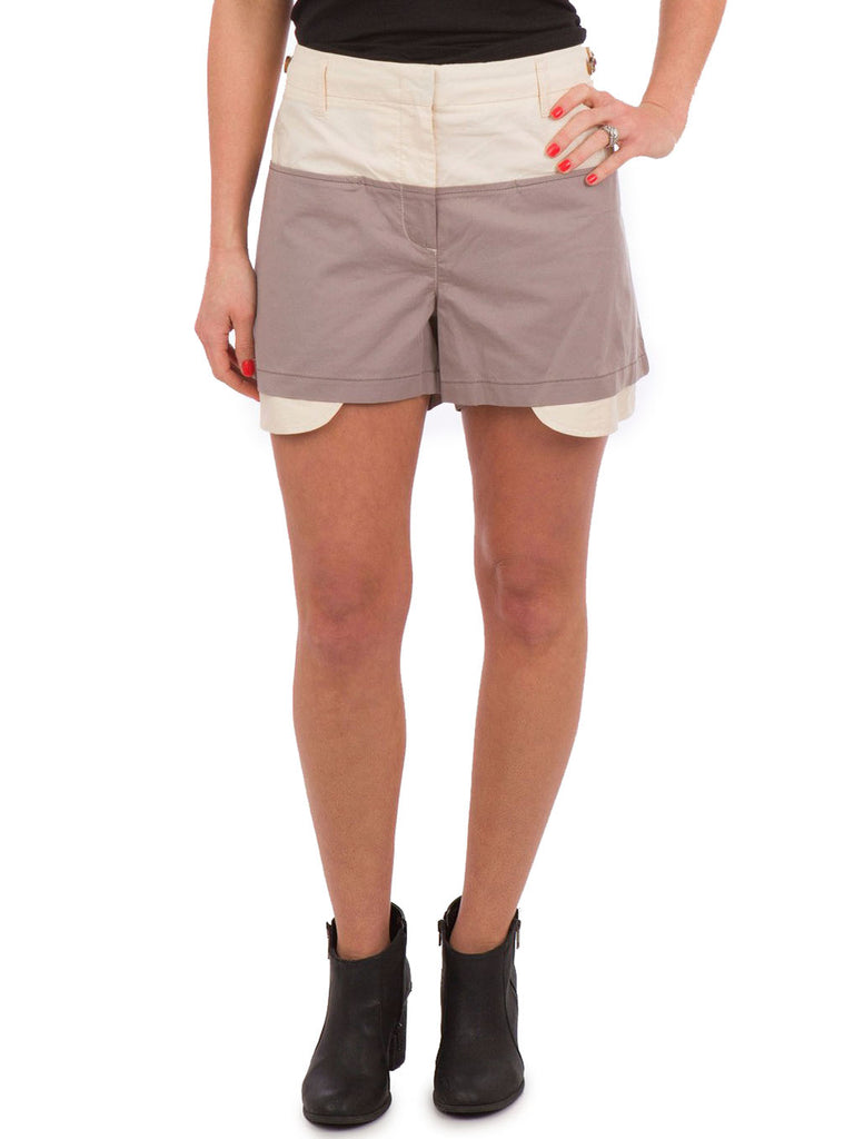 See by Chloé Two Tone Shorts - The Mercantile