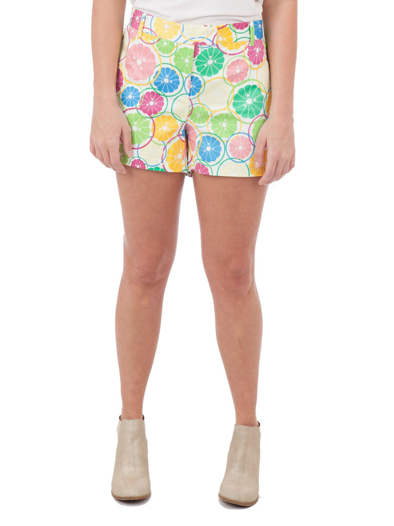 JB by Julie Brown Citrus Print Shorts - The Mercantile