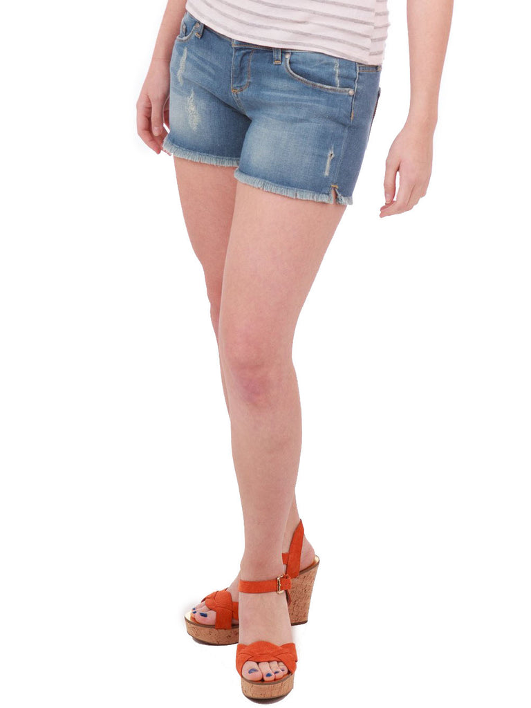 Paige Distressed Catalina Cutoff Shorts - The Mercantile