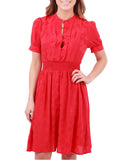 Maple By Some Odd Rubies Crimson Social Dress - The Mercantile
