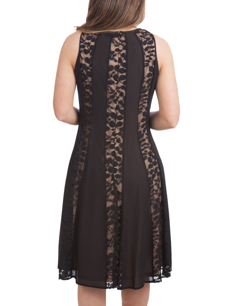Nine West Multi Panel Fit & Flare Dress - The Mercantile
