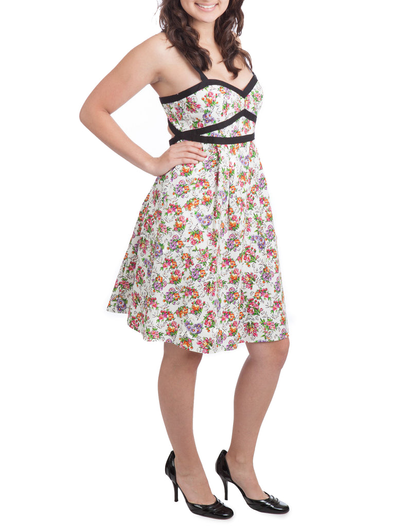 Nanette Lepore Floral Print Sundress - The Mercantile
